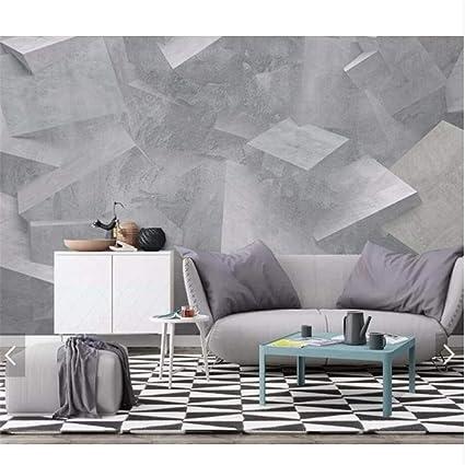 Mrlwy Carte da parati in rilievo 3D in muratura per pareti 3 ...