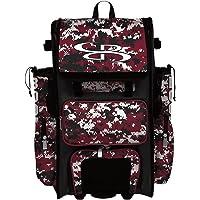 Boombah Superpack Hybrid Rolling Bat Bag Camo - Multiple Colors - Wheeled & Backpack Version