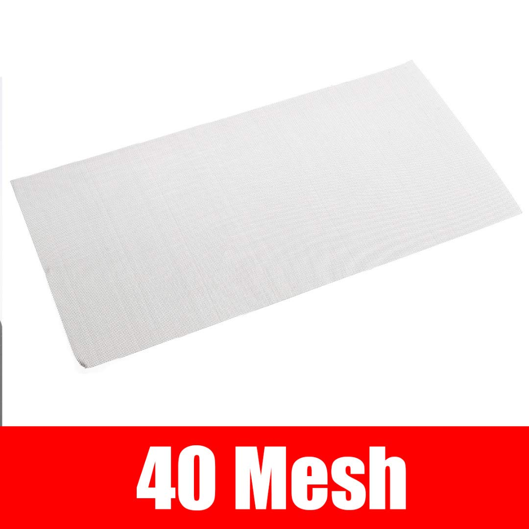 High Strength Stainless Steel Woven Cloth Screen Wire Filter Sheet 6X12 5//8//20//30//40 Mesh For Protective Decorative 8Mesh