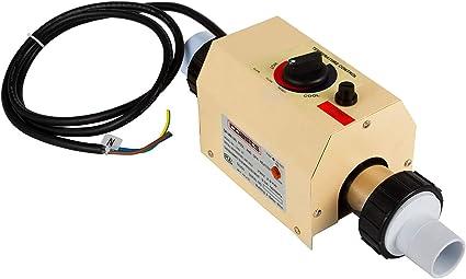 11KW 220V Poolheizung SPA Warmwasserbereiter einstellbare Wassertemperatur intelligenter W/ärmetauscher selbstdiagnose W/ärmepumpe NICCOO Schwimmbadheizung elektrischer Thermostat Edelstahlheizrohr