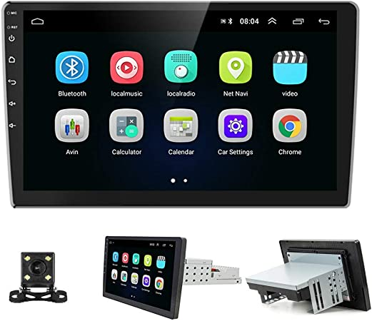 Amazon Com Podofo Android Car Stereo Car Radio With Gps Navigation 10 1 Touch Screen Autoradio Bluetooth Fm Radio Receiver Multimedia Player Support Wifi Mirror Link Usb Backup Camera Gps Navigation
