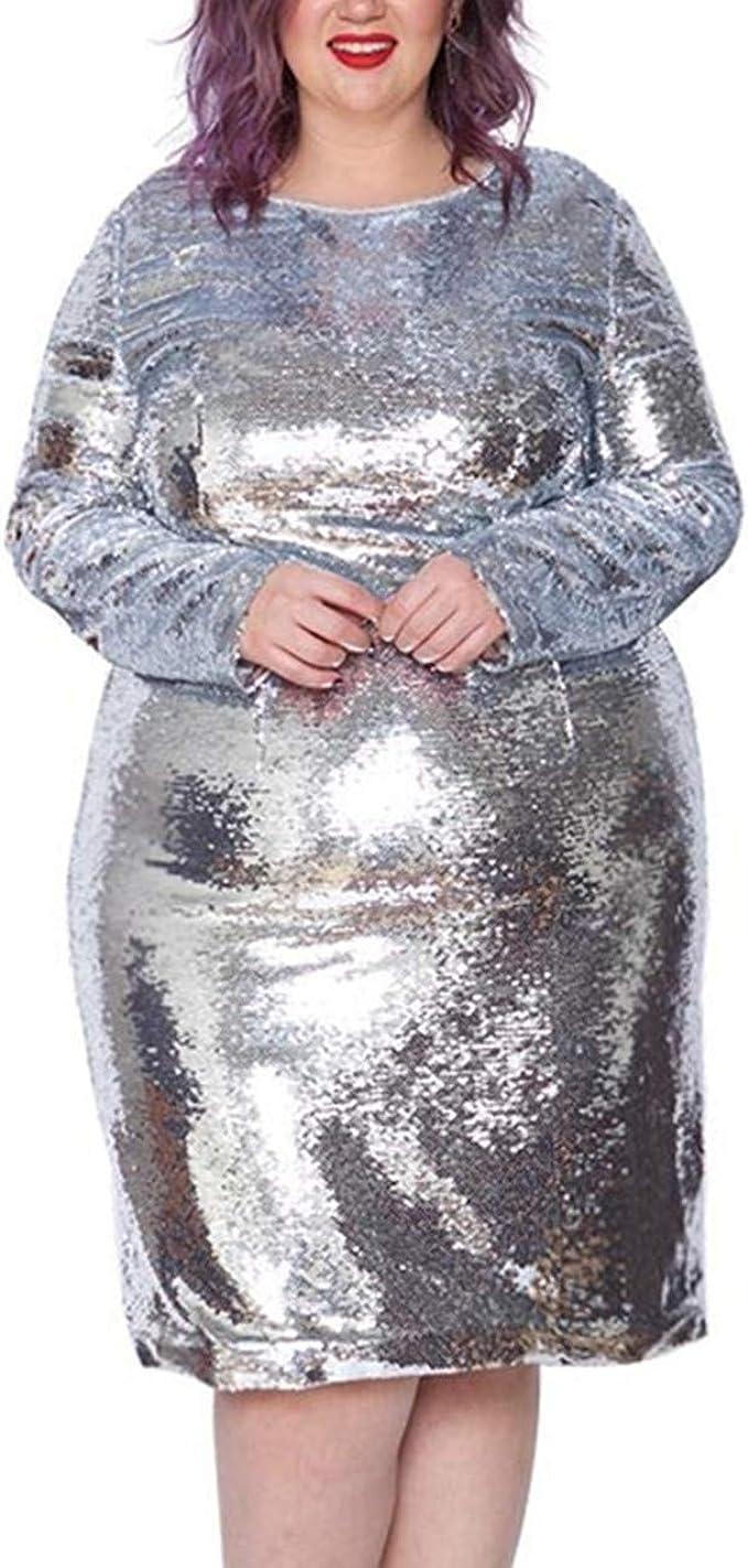 Astra Signature Women\'s Plus Size Glitter Long Sleeve ...