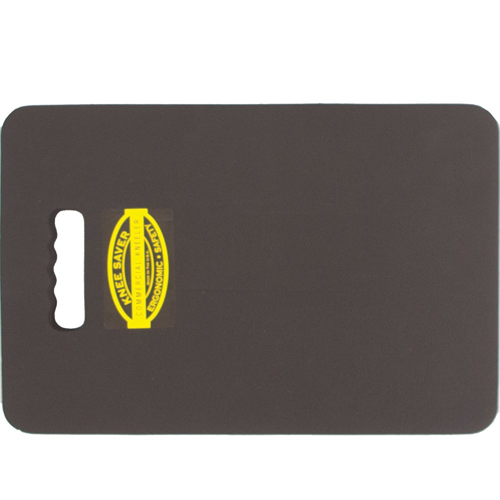 1-Inch Thick Knee Saver Protection Mat 14-inches by 21-Inches Black