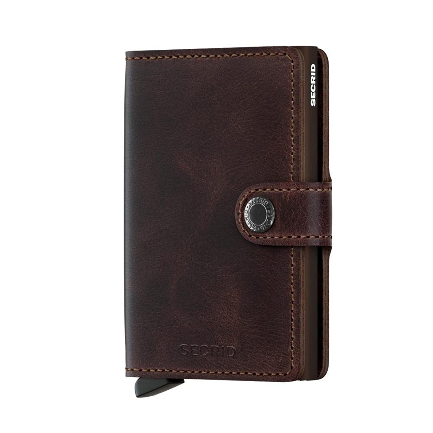 Secrid   Secrid Mini Wallet Genuine Leather Rfid Safe Card Case For Max 12 Cards by Secrid