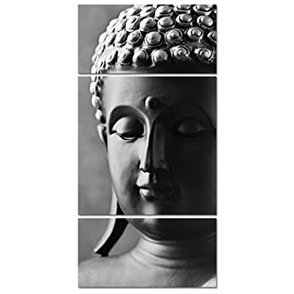 Visual art decor modern buddha canvas wall artbuddha painting picture printsbuddha statue