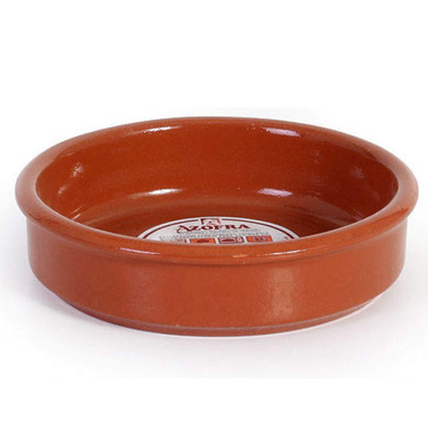 Azofra - Cazuela de barro de 14 cm apta para vitro: Amazon ...