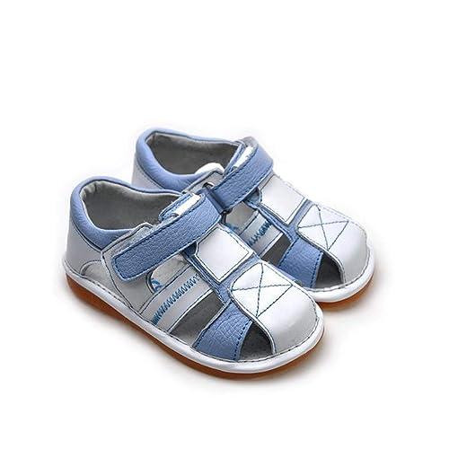 Squeaky Cuero De Shoes Niños Freycoo Chirriantes Zapatos 0OkN8nPZwX