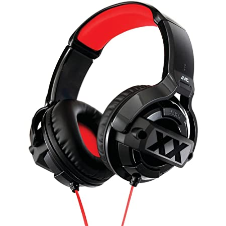 23f6239a01a21b Buy JVC HA-M55X Xtreme Xplosives Series Over-The-Ear Headphone Online at  Low Prices in India - Amazon.in