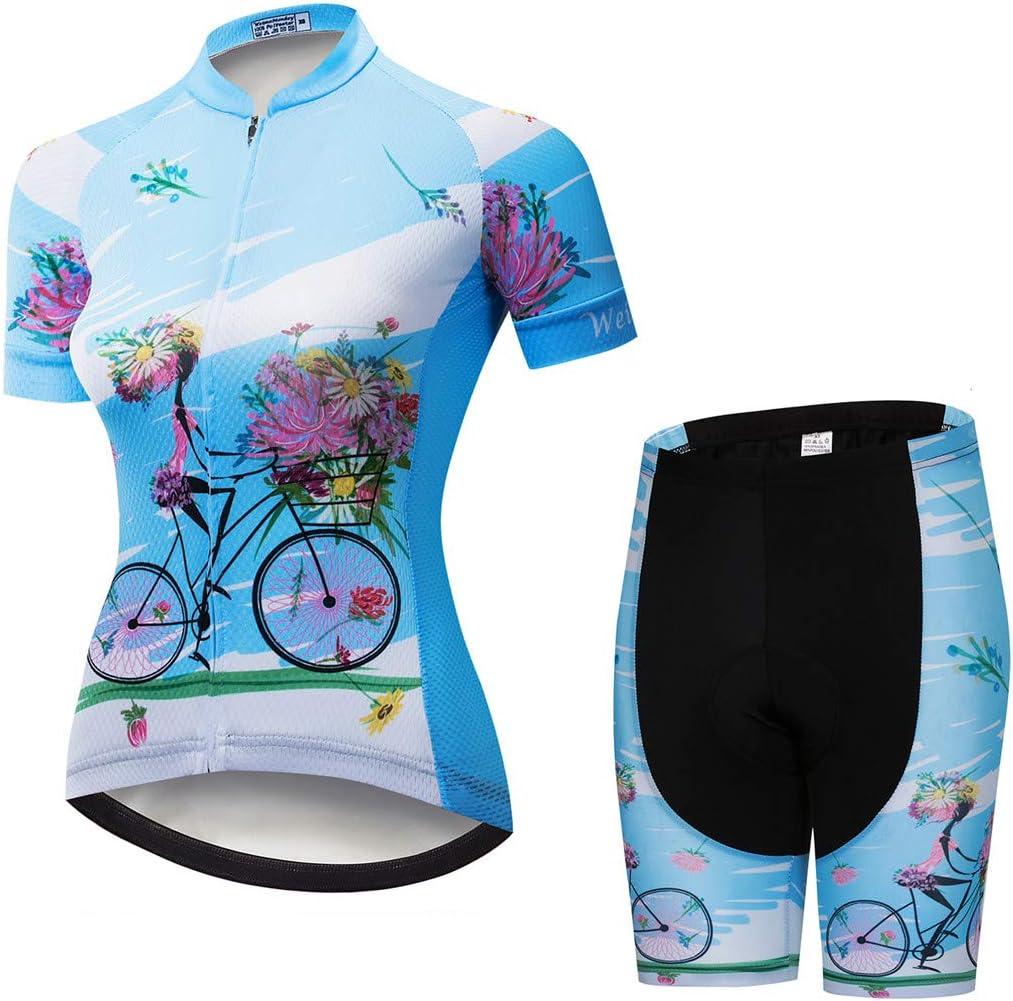 Weimostar Radtrikot Frauen Mountain Bike Trikot Shirts Kurzarm Rennrad Kleidung MTB Tops Sommer Sommer Kleidung Schmetterling weiß: Amazon.de: Sport & Freizeit - Fahrradbekleidung