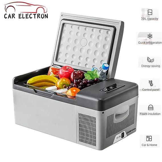 CAR ELECTRON Refrigerador portátil para automóvil Refrigerador ...