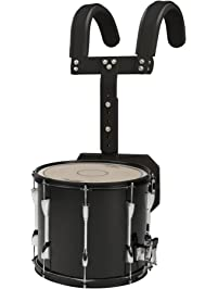 Sound Percussion Labs Marching Snare Drum With Carrier 13 X 11 In Black