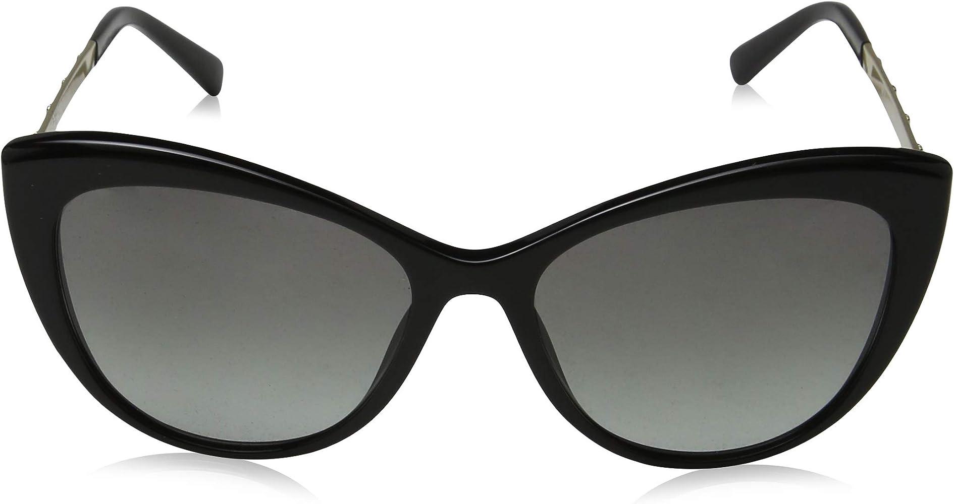Amazon.com: Versace Women s ojo de gato anteojos de sol ...