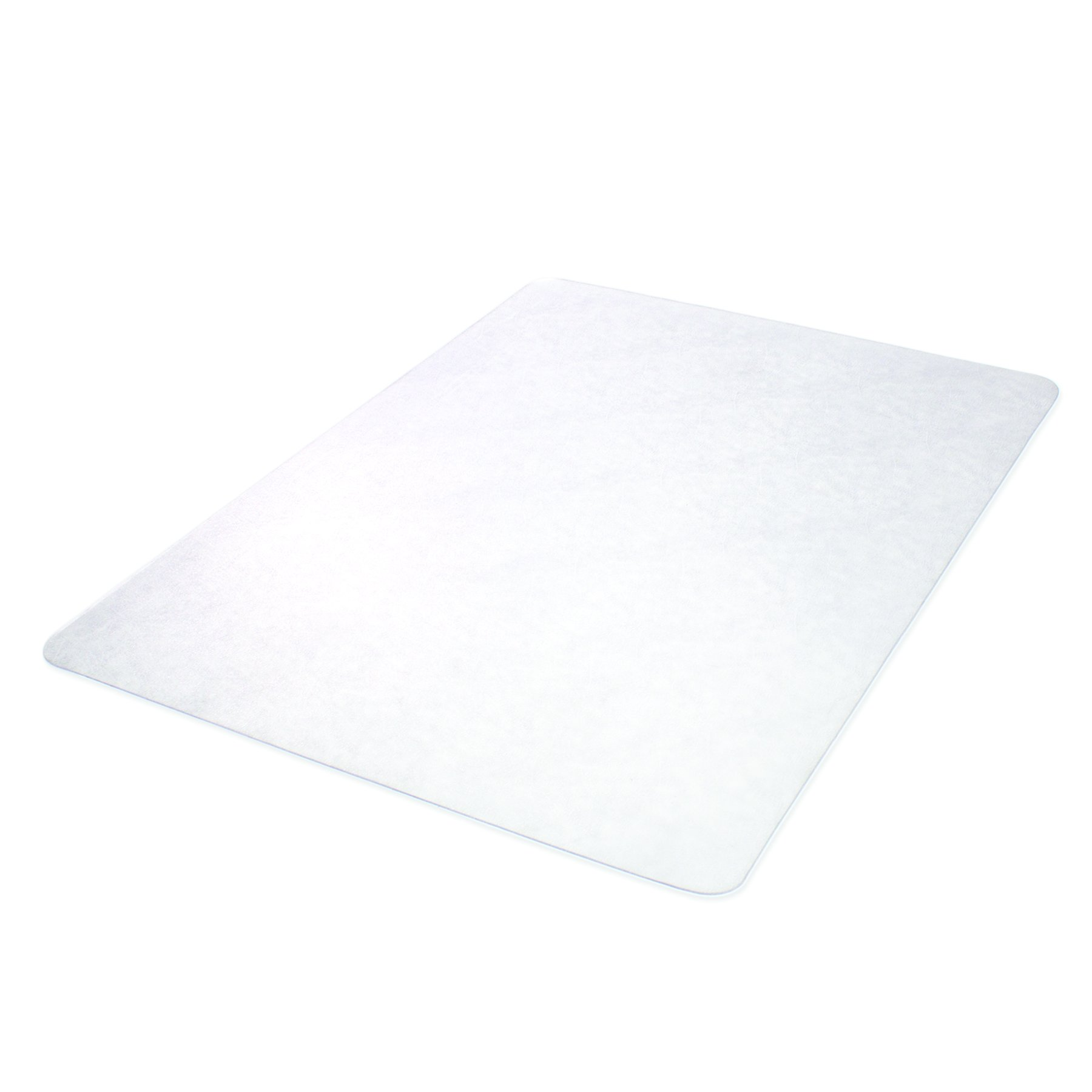 Deflecto SuperMat Clear Chair Mat, Hard Floor Use, Rectangle, Beveled Edge, 45 x 53 Inches (CM24243) by Deflecto