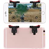 mStick Mobile Phone Gamepad Gaming Trigger for pubg ROS Fire Shooter Controller Button Aim Key L1 R1 (Red)