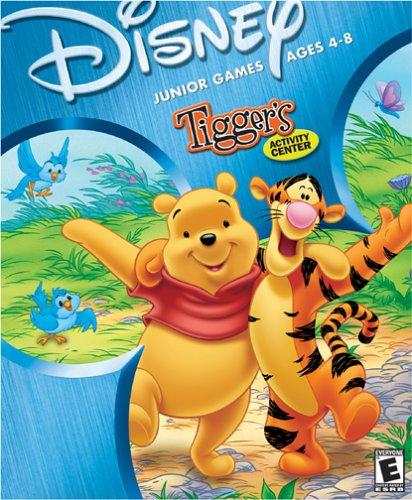 Disney Tigger's Activity Center Ages 4-8 - PC