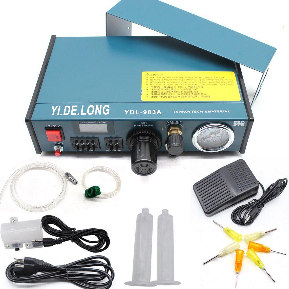 Digital Display Auto Glue Dispenser Solder Paste Liquid Controller Dropper YDL-983A