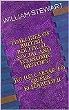 british history timeline - TIMELINES OF BRITISH POLITICAL, SOCIAL AND ECONOMIC HISTORY: JULIUS CAESAR TO QUEEN ELIZABETH II