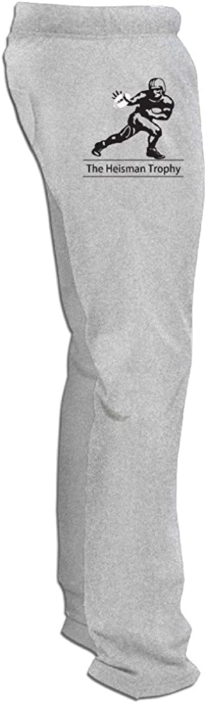 Juice Forus Men's Heisman Memorial Trophy Award Training Pants Ash
