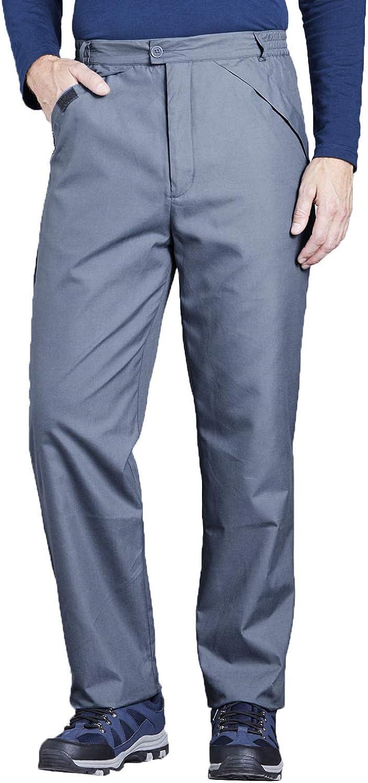 Chums Mens Waterproof Anti Pill Fleece Lined Trouser Pants Taped Seams /& Belt