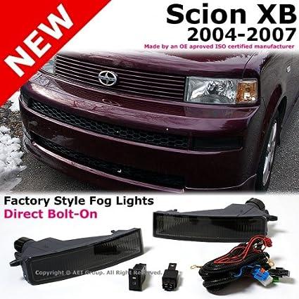 amazon com scion xb 2004 to 2007 bumper smoke fog light lamps kit rh amazon com 2008 Scion xB Engine Diagram Diagrams for Scion xB