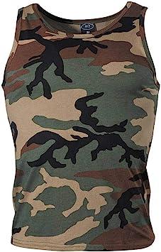 TALLA XXL. MFH Tank Top camiseta Woodland