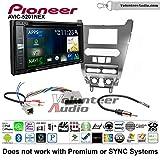 Pioneer AVIC-5201NEX Double Din Radio Install Kit with Navigation Apple Carplay Bluetooth Fits 2008-2011 Focus