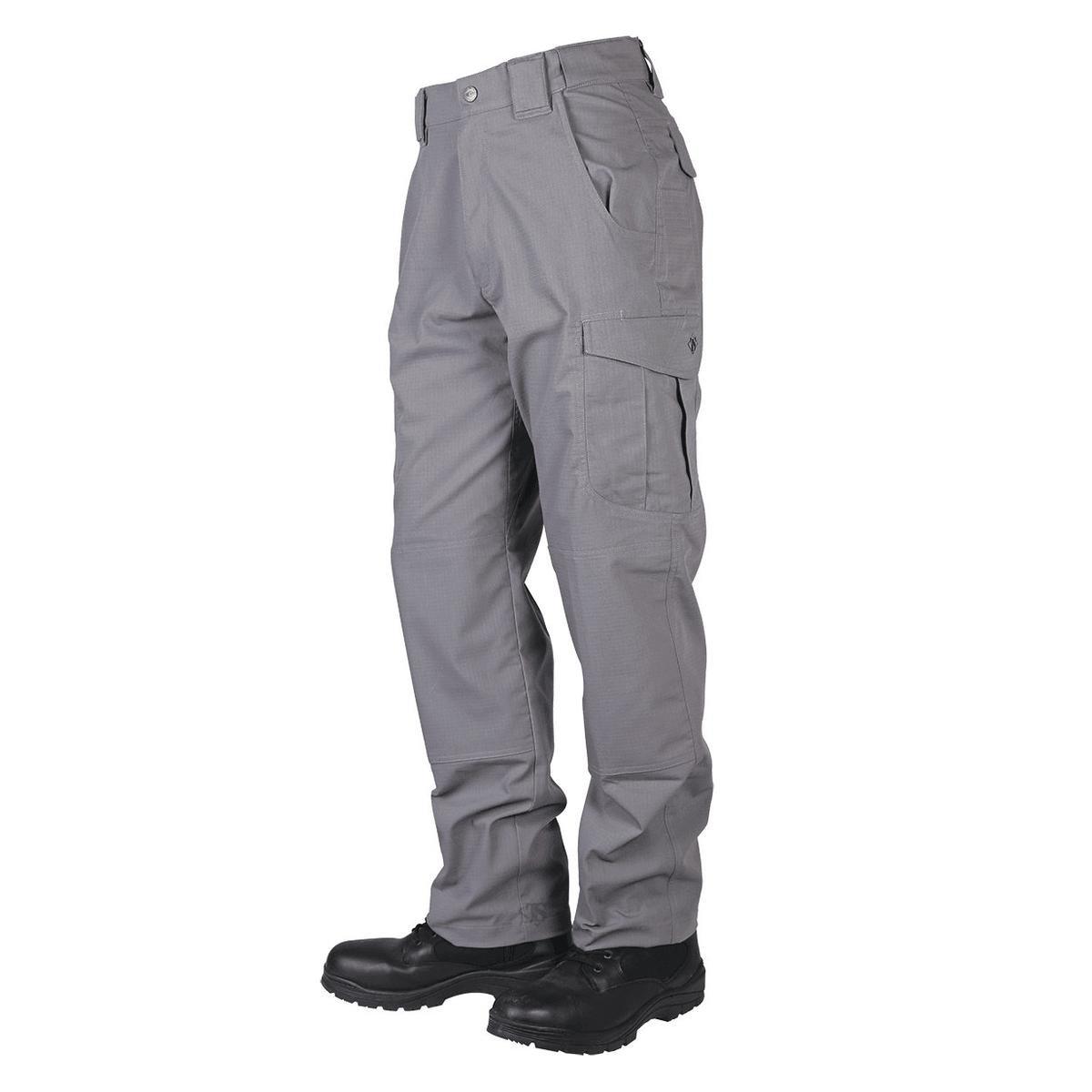 TRU-SPEC Men's Pants, 24-7 Ascent, Light Grey, W: 28'' x L: Unhemmed