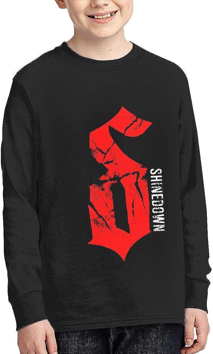 Optumus Shinedown-in-The Stratosphere Kids Sweatshirts Long Sleeve T Shirt Boy Girl Children Teenagers Unisex Tee