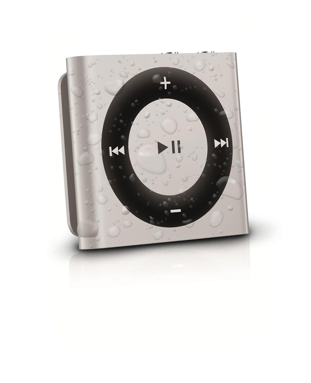 Audioflood Waterproof Apple Ipod Shuffle Silver Latest Gen