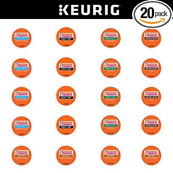 Dunkin Donuts Coffee Variety Sampler Pack for Keurig KCup Brewers