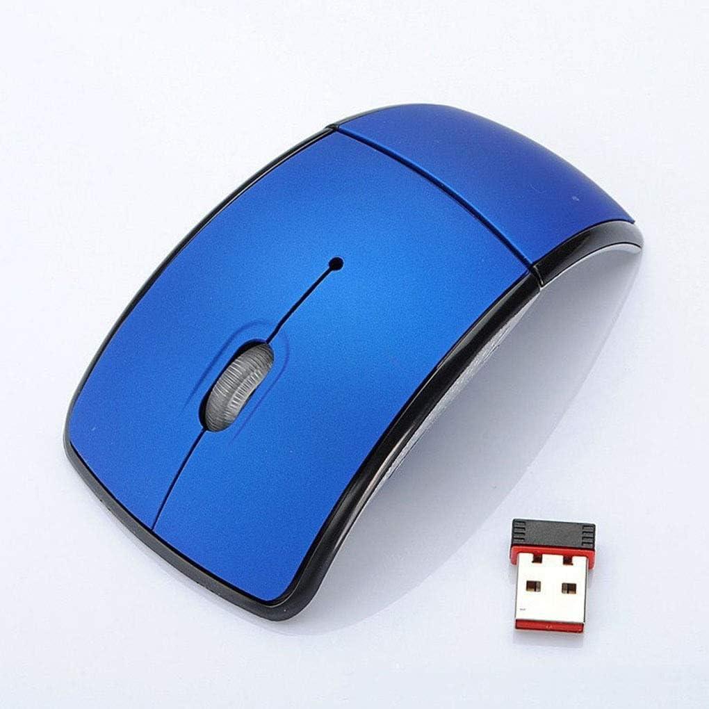 2.4G récepteur Pliable Souris Pliable sans Fil Souris sans Fil USB Accessoires for Ordinateur Portable Ordinateur de Jeu (Color : NO.6) NO.4