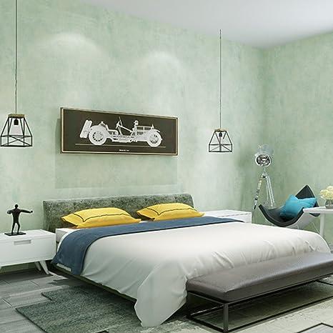Vliestapete Rock Sand Muster Schlafzimmer Wohnzimmer Tv Hintergrund Tapete Rolle Zuhause Deko Blassgrun Amazon De Baumarkt