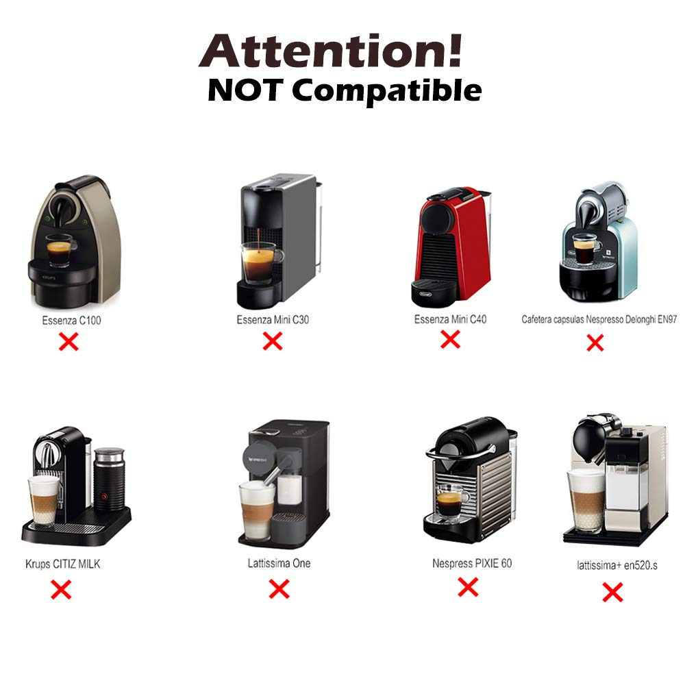 Amazon.com: MG Coffee Stainless Steel Reusable Nespresso Capsule Permanent Coffee Pod Holder Compatible for Nespresso Original Line Machines with gifts ...