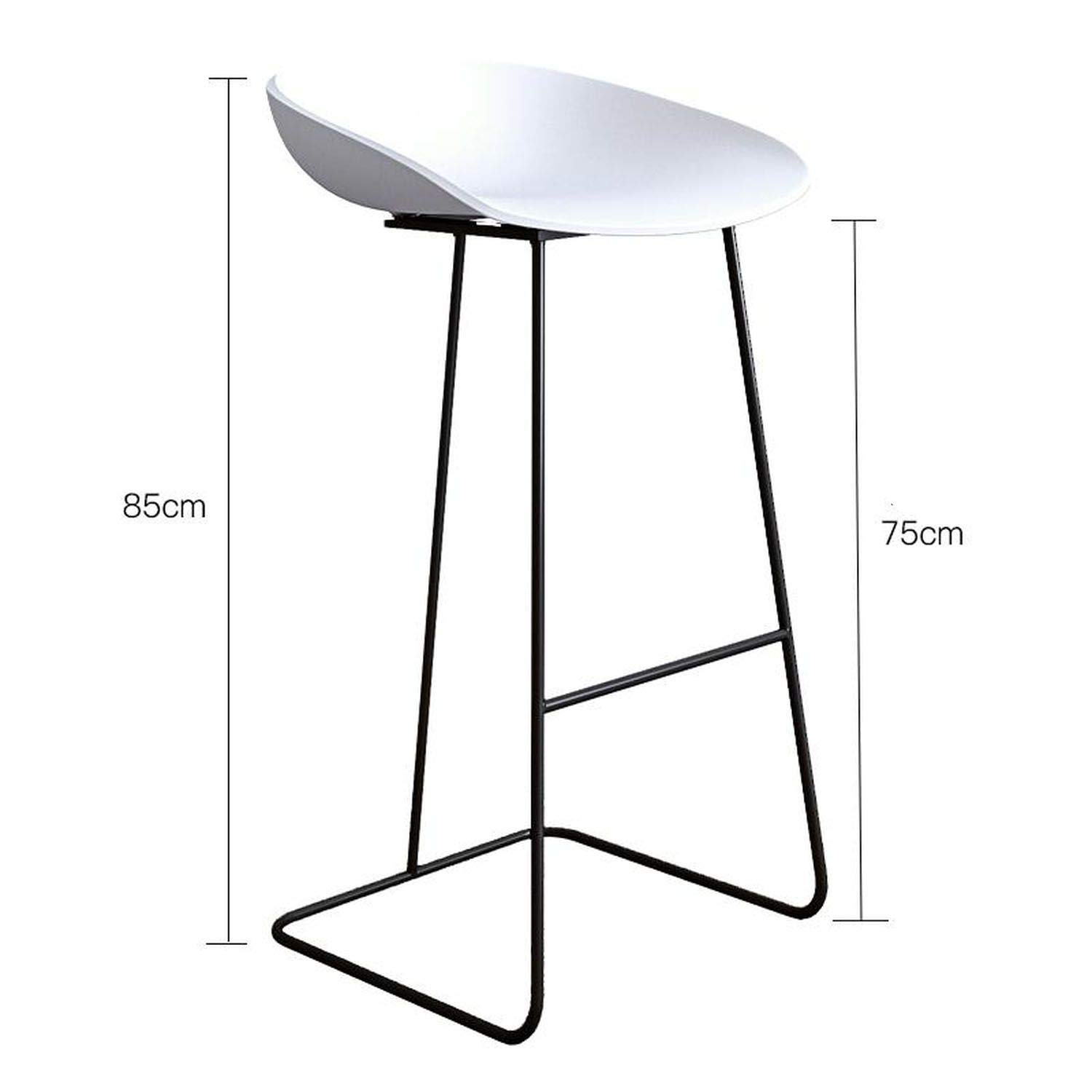 Style 2 one size Bar Stools gold Wrought Iron Stool Modern Minimalist Home Backrest High Chair Creative Net Red Bar,Style 11