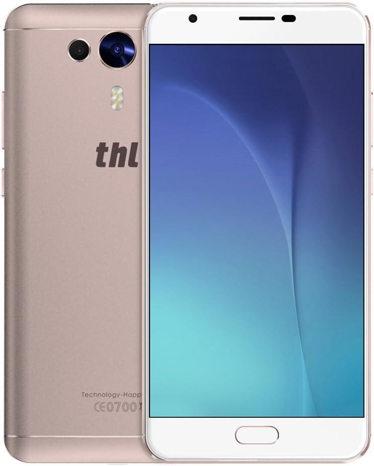 THL Knight 1 4 G Smartphone phablet 5,5 Pulgadas FHD Pantalla Android 7,0 mtk6750t 1,5 GHz Octa Core 3 GB RAM 32 GB ROM 13 MP + 2,0 MP Dual Carmedien Huella Dactilar hotk Not: Amazon.es: Electrónica