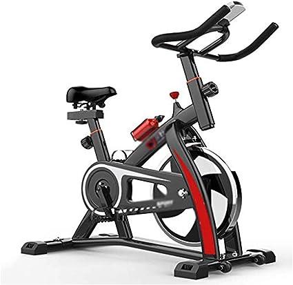 KuaiKeSport Bicicleta Estática de Fitness,Bicicleta Spinning Profesional con Monitor Multifuncional,Bicicleta Gimnasio con Manillar Ajustable y Asiento Ajuste de Resistencia: Amazon.es: Deportes y aire libre