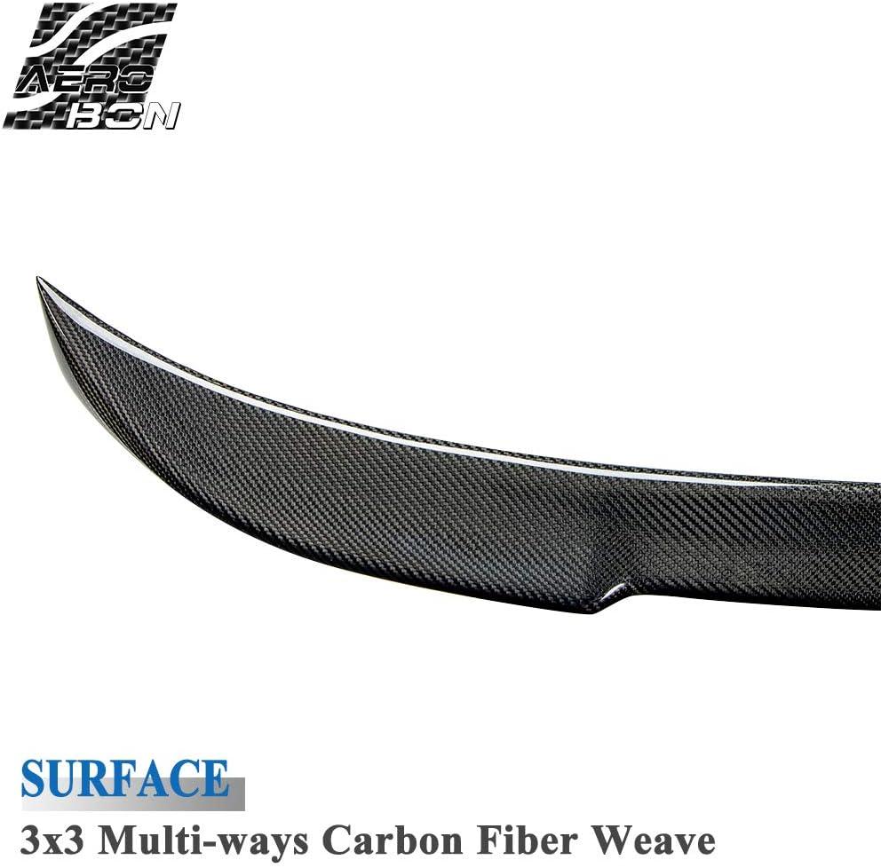 AeroBon Karbonfaser F32 Heckspoiler Spoiler f/ür 4ers Coupe 2DR CS Style 13-19
