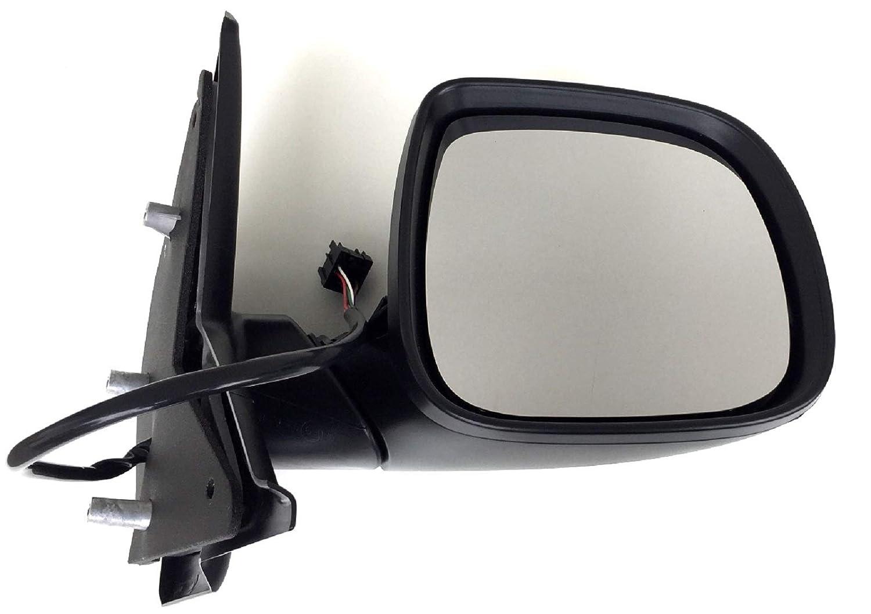 Pro!Carpentis Au/ßen-Spiegel rechts elektrisch beheizt verstellbar klappbar grundiert Stecker 7 Pin kompatibel mit T5 Transporter Multivan Bus ab Facelift 11//2009