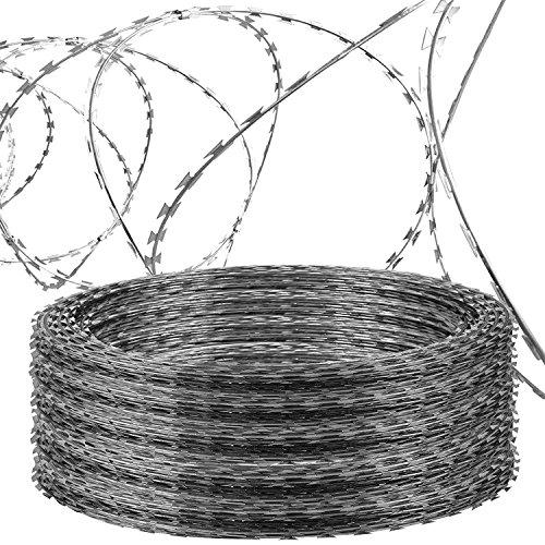 OrangeA Razor Wire Galvanized Barbed Wire Razor Ribbon Barbed Wire ...