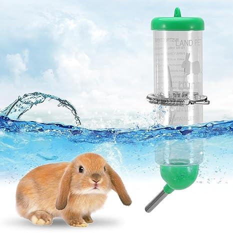 SOULONG - Botella de Agua para Animales pequeños, 250 ml ...