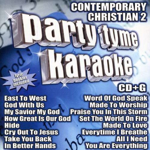 Party Tyme Karaoke - Contemporary Christian 2 (16-song CD+G)
