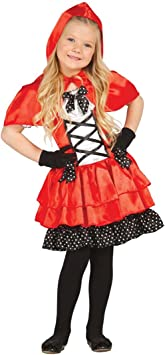 NET TOYS Disfraz Caperucita roja Infantil Traje de Cuento para ...