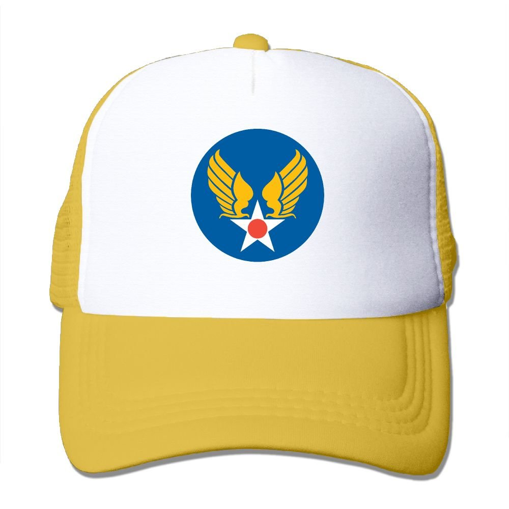 Us Army Air Corps Hap Arnold Wings New Adjustable Adult Mesh Cap