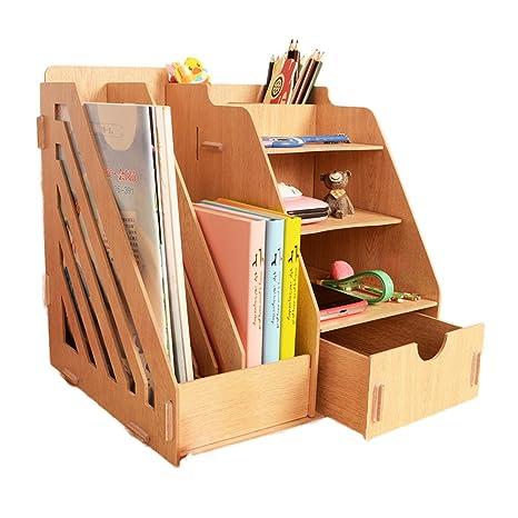 Amazon.com: MineDecor - Organizador de escritorio de madera ...