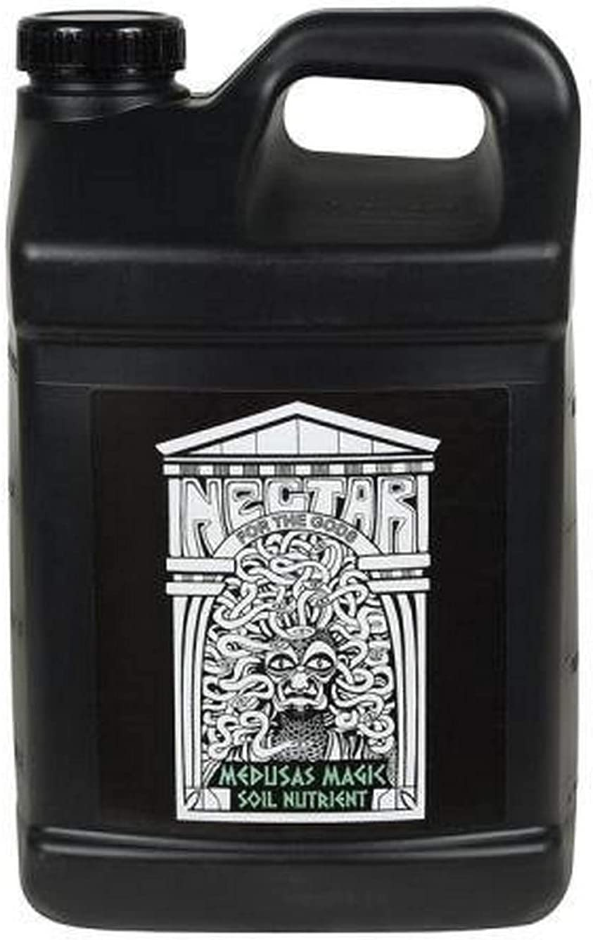 Nectar for the Gods NGMM1025 Medusa's Magic, 2.5 gal Plant Nutrient, 2.5 Gallons 320 Ounces, Black Pack of 3