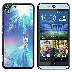 Stuss Case / Funda Carcasa protectora - Bleu d'hiver Enfants'S - HTC Desire Eye M910x