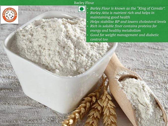 Home of Spices Barley Flour [Fibre Rich Jau Atta] 500g