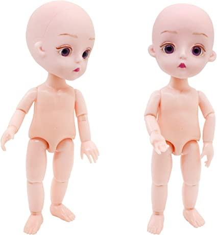 1//7 BJD Doll Little Toy Without Any Make Up Resin P