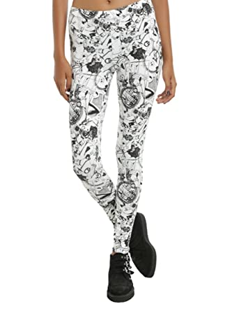 the nightmare before christmas characters print leggings - Nightmare Before Christmas Leggings