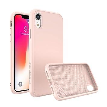 iphone xr coque rigide rose